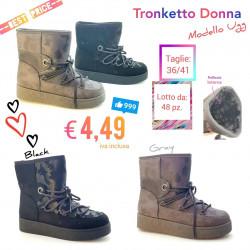 Stock Tronchetto Donna Mod....