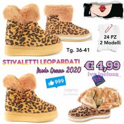 Stock Stivaletti Leopardati 1
