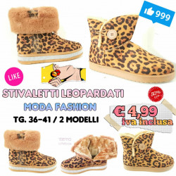 Stock Stivaletti Leopardati 2