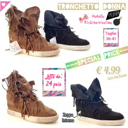 Stock Tronchetto Donna Fashion