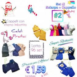 Stock Set Cappello +...