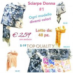 Stock Sciarpe Donna 1