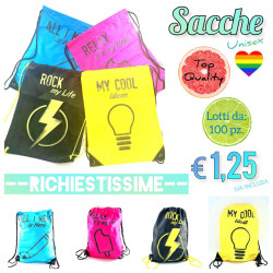 Stock Sacche Multicolor