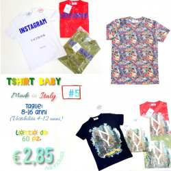 Stock T-Shirt Baby  Made in...